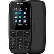 Nokia 105 (2019) fekete dupla SIM - Mobiltelefon
