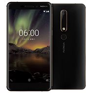 Nokia 6.1 Dual SIM Black/Copper - Mobiltelefon