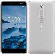 Nokia 6.1 Silver Dual SIM - Mobiltelefon
