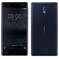 Nokia 3 Tempered Blue Dual SIM - Mobiltelefon