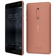 Nokia 5 Copper Single SIM - Mobiltelefon