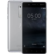 Nokia 5 Silver - Mobiltelefon