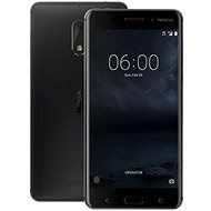 Nokia 6 Matte Black Dual SIM - Mobiltelefon