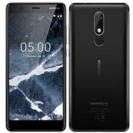 Nokia 5.1 Dual SIM, fekete - Mobiltelefon