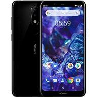 Nokia 5.1 Plus, fekete - Mobiltelefon
