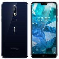 Nokia 7.1 Dual SIM 32GB, kék - Mobiltelefon