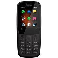 Nokia 220 4G Dual SIM, fekete - Mobiltelefon