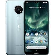 Nokia 7.2 Dual SIM, ezüst - Mobiltelefon