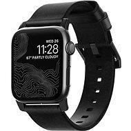 Nomad Leather Strap Black/Black Apple Watch 6/SE/5/4/3/2/1 44/42mm