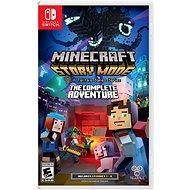 Minecraft Story Mode: The Complete Adventure - Nintendo Switch - Konzoljáték