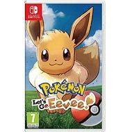 Pokémon Lets Go Eevee! - Nintendo Switch - Konzoljáték