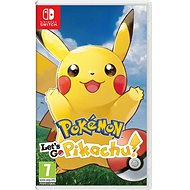 Pokémon Lets Go Pikachu! - Nintendo Switch - Konzoljáték