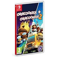 Overcooked! + Overcooked! 2 - Double Pack - Nintendo Switch - Konzol játék