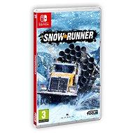 SnowRunner - Nintendo Switch - Konzol játék