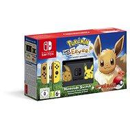 Nintendo Switch + Pokémon: Lets Go Eevee + Poké Ball - Játékkonzol