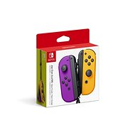 Nintendo Switch Joy-Con kontroller - Neon Purple/Neon Orange