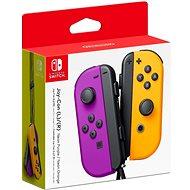 Nintendo Switch Joy-Con kontroller - Neon Purple/Neon Orange - Kontroller