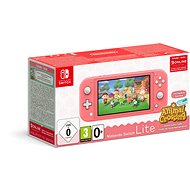 Nintendo Switch Lite - Coral + Animal Crossing + 3M NSO - Konzol