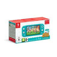 Nintendo Switch Lite - Turquoise + Animal Crossing + 3M NSO - Konzol