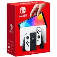 Nintendo Switch (OLED modell) White - Konzol
