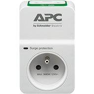Túlfeszültségvédő APC SurgeArrest 1 túlfeszültség elleni alapvédelem 230V kimenet, 2 USB, Franciaország