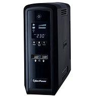 CyberPower GreenPower PFC Sinewave UPS 1300VA/780W - SCHUKO, USB, RS-232, LCD kijelző, line-interaktív - Szünetmentes tápegység