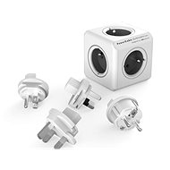 PowerCube Rewirable + Travel Plugs szürke - Hálózati adapter