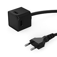 PowerCube USBcube Extended 4xUSB-A - fekete - Aljzat