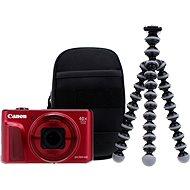 Canon PowerShot SX720 HS piros Travel Kit - Digitális fényképezőgép