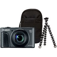 Canon PowerShot SX730 HS Travel Kit fekete - Digitális fényképezőgép