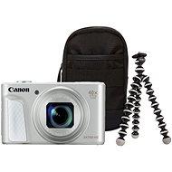 Canon PowerShot SX730 HS Travel Kit ezüst - Digitális fényképezőgép
