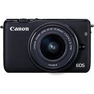 Canon EOS M100 fekete + M15-45mm ezüst - Digitális fényképezőgép