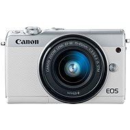 Canon EOS M100 váz fehér - Digitális fényképezőgép
