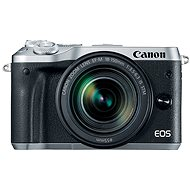 Canon EOS M6 ezüst + EF-M 18-150mm - Digitális fényképezőgép