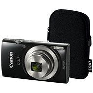 Canon IXUS 185 fekete Essential Kit - Digitális fényképezőgép