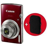 Canon IXUS 185 piros Essential Kit - Digitális fényképezőgép