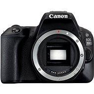 Canon EOS 200D fekete váz - Digitális tükörreflexes fényképezőgép