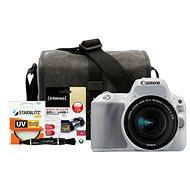 Canon EOS 200D fehér + 18-55mm IS STM - Digitális tükörreflexes fényképezőgép