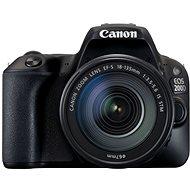 Canon EOS 200D + 18-135mm IS STM - Digitális tükörreflexes fényképezőgép