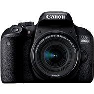Canon EOS 800D černý + 18-55mm IS STM - Digitális fényképezőgép
