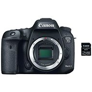 Canon EOS 7D Mark II váz + W-E1 adapter - Digitális tükörreflexes fényképezőgép