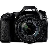 Canon EOS 80D + EF-S 18-135mm IS USM - Digitális tükörreflexes fényképezőgép