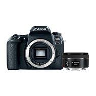 Canon EOS 77D + Canon 50mm f/1.8 - Digitális fényképezőgép