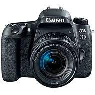 Canon EOS 77D fekete + 18-55 mm IS STM - Digitális tükörreflexes fényképezőgép