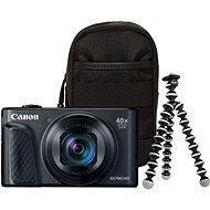 Canon PowerShot SX740 HS fekete Travel kit - Digitális fényképezőgép