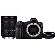Canon EOS R + RF 24-105 mm L USM + EF-EOS R adapter - Digitális fényképezőgép