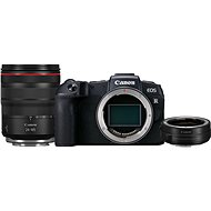 Canon EOS RP černý + RF 24-105mm + EF-EOS R adapter - Digitális fényképezőgép