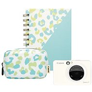 Canon Zoemini S, gyöngyházfehér - Essential Kit - Instant fényképezőgép