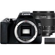 Canon EOS 250D, fekete + EF-S 18-55mm IS STM + LP-E17 - Digitális fényképezőgép