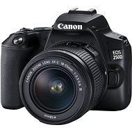 Canon EOS 250D, fekete + 18-55mm DC III - Digitális fényképezőgép